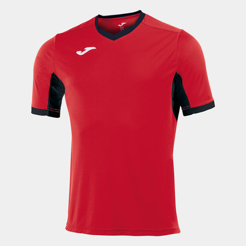 Champion IV Short Sleeved Shirt Red/Black