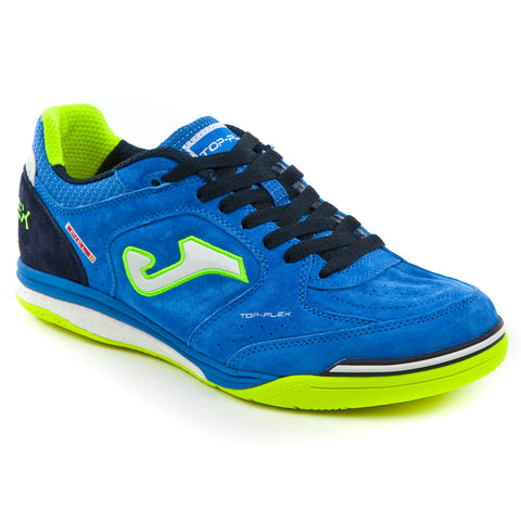Futsal Shoe - Top Flex Nobuck 804 Royal Indoor