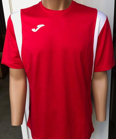 Dinamo Red/White Short Sleeved Shirt