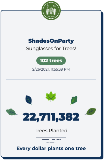 Trees For Sunnies!