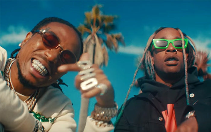Sunglasses Spotted: Ty Dolla Sign - Pineapple feat. Gucci Mane & Quavo