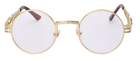 gold and clear migos sunglasses