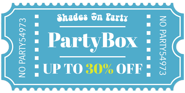 PartyBox Sunglasses Discount