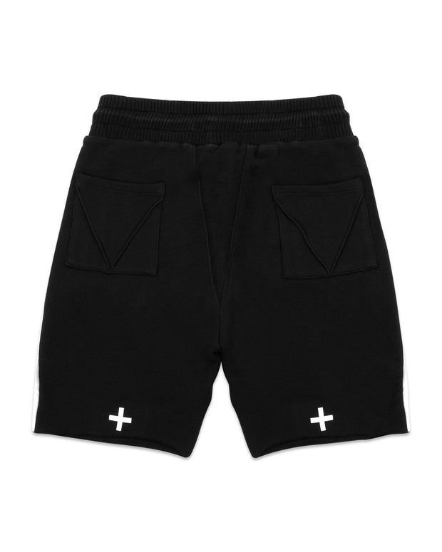 BOXERS BLACK WITH LAMBSKIN CONTRAST
