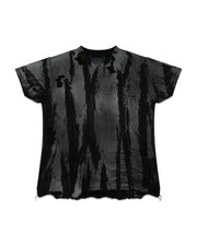 CRACKED OVERSIZE TEES