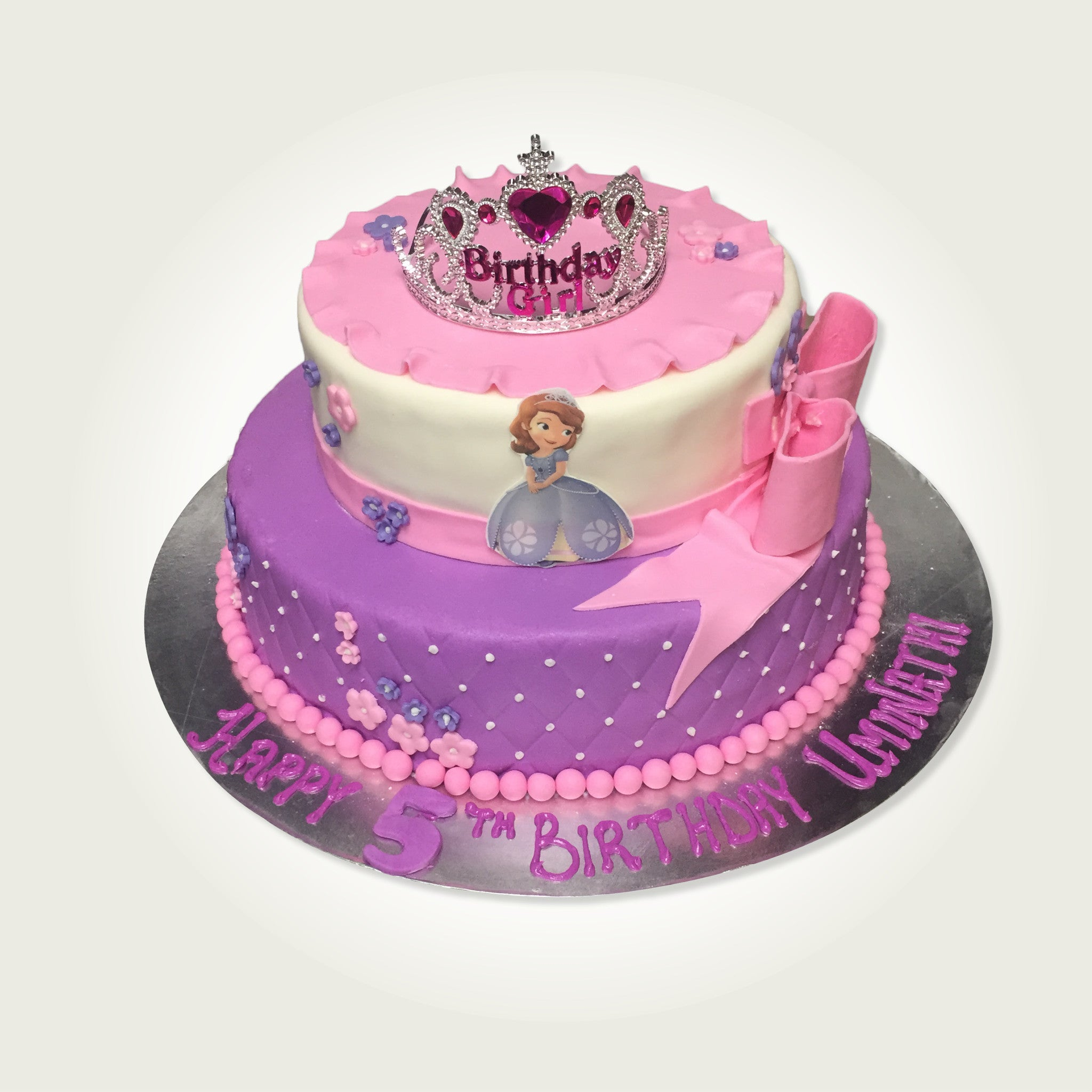 Fantastic Princess Sophia Cakes Ovendelights Birthday Cards Printable Benkemecafe Filternl