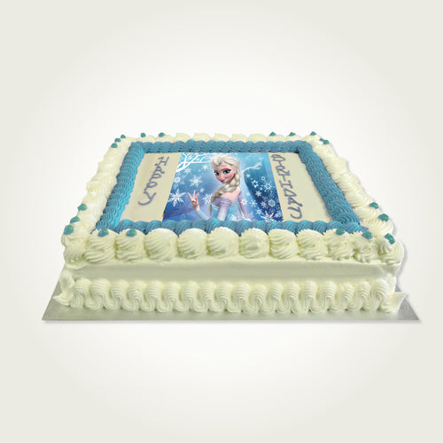 Single Layer Picture Buttercream