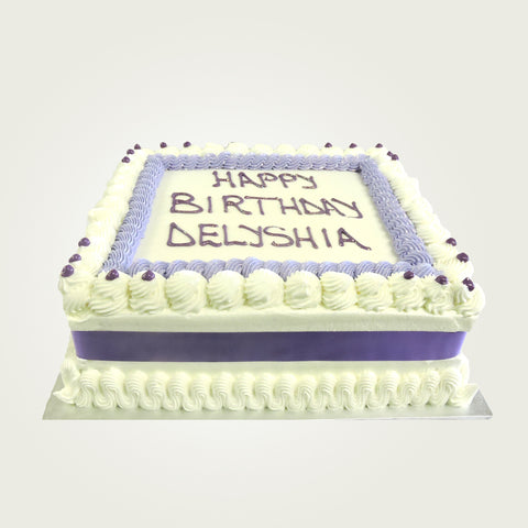 Double Layer Picture Buttercream