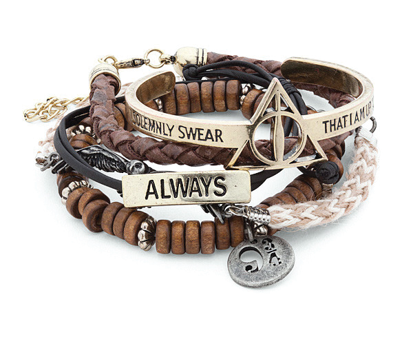 Harry Potter™ Officially Licensed Bracelet Set (x5 Bracelets!)