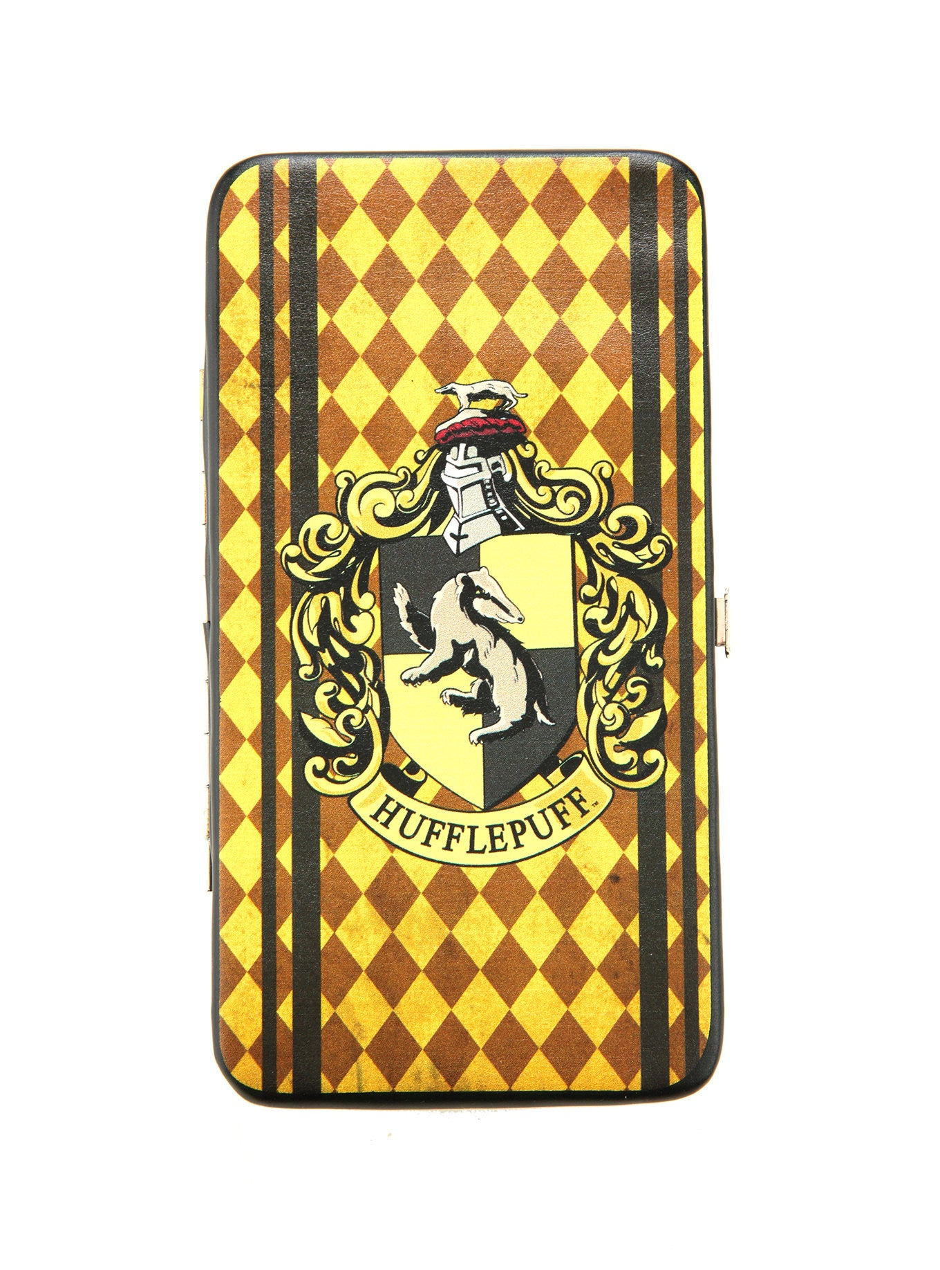 HARRY POTTER HUFFLEPUFF HOUSE CREST HINGE WALLET