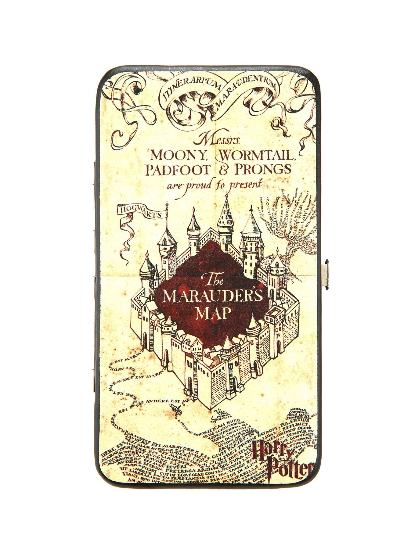 HARRY POTTER THE MARAUDER'S MAP HINGE WALLET