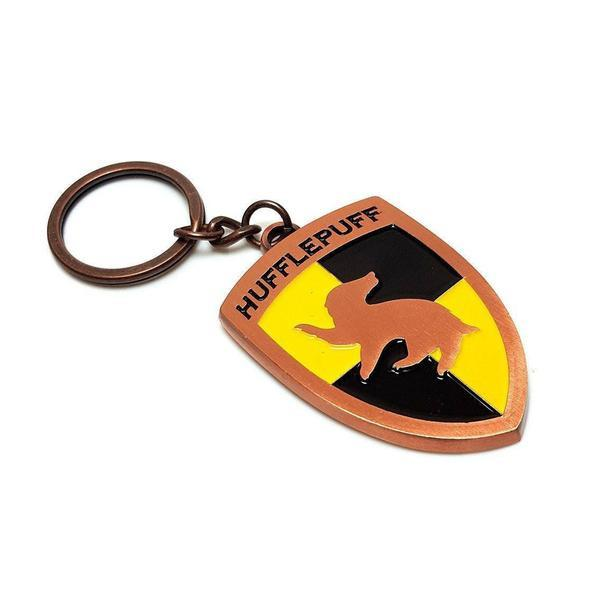 Harry Potter™ Officially Licensed Hufflepuff Metal Keyring