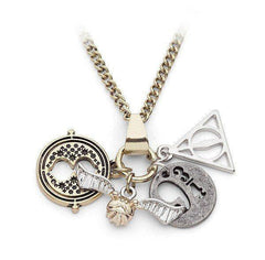 Harry Potter™ Officially Licensed Multi Charm Necklace ( Clearance SALE! )