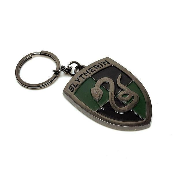 Harry Potter™ Officially Licensed Slytherin Metal Keyring