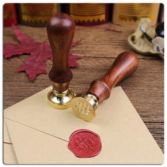 Feather Pen and Wax Seal Kit