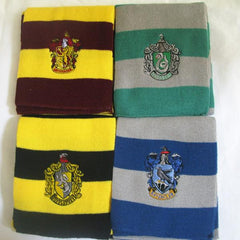 Harry Potter - Hogwarts House Scarves (NEW YEAR'S CLEARANCE SALE! - ENDS MIDNIGHT!)