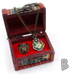 Harry Potter Necklace & Ring Set ( Clearance SALE! )