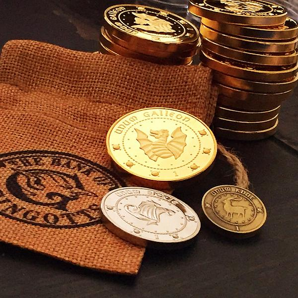 Harry Potter Gringotts Bank Coins ( Clearance SALE! )
