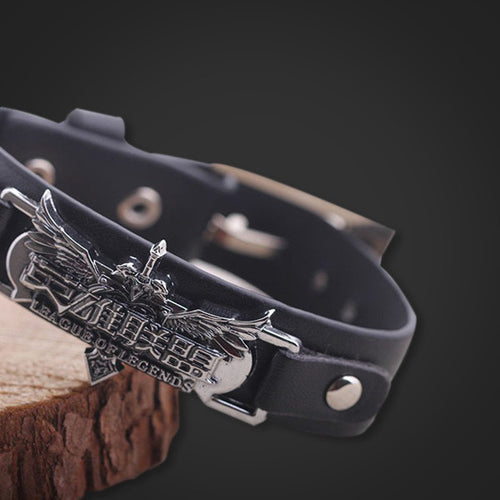 League Of Legends Leather Bracelet