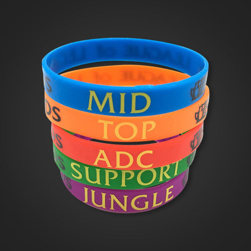 League Of Legends Silicone Bracelets