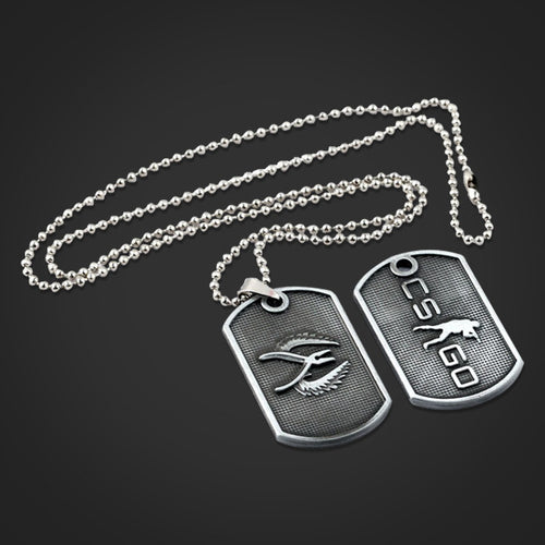 CS:GO Metal Pendant Necklace
