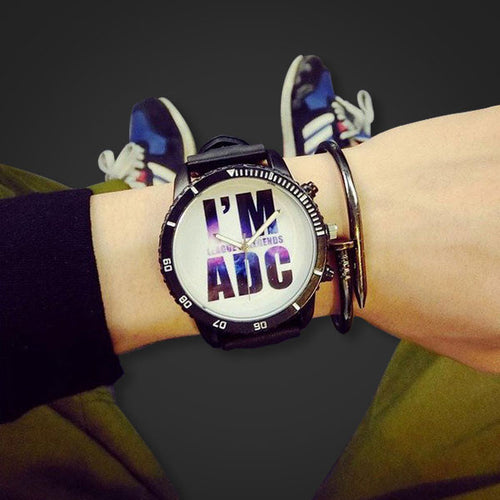 League of Legends I'm ADC Wrist Watch