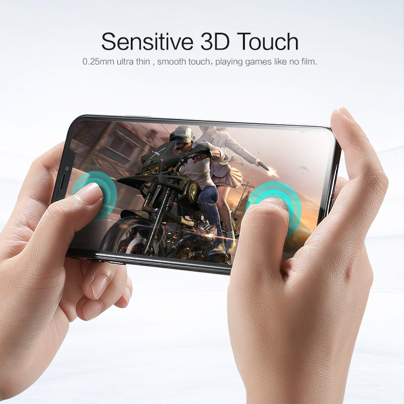 9H 0.25mm Full Cover Screen Protector - FLOVEME