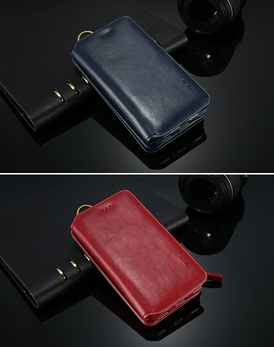 Retro Leather Case For Samsung - FLOVEME