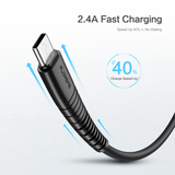 5V 2.4A Data Charging Cable - FLOVEME