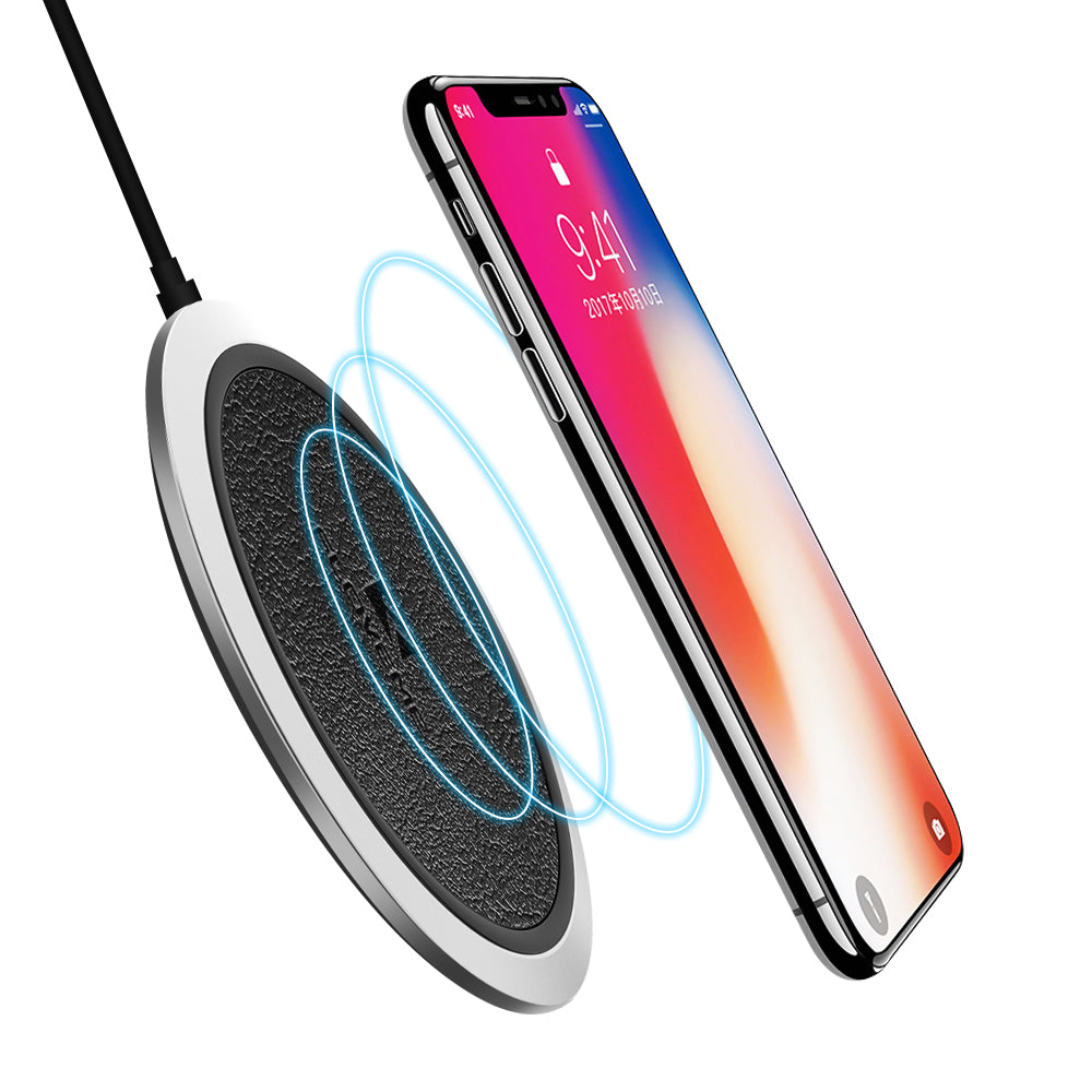 Qi-Certified Ultra-Slim Wireless Charger - FLOVEME