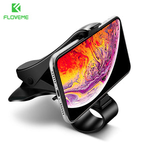 FLOVEME Car Mobile Phone Holder Stand Stable Grip Dashboard Mount Holders for Phone in Car telefon tutucu soporte movil Support - FLOVEME
