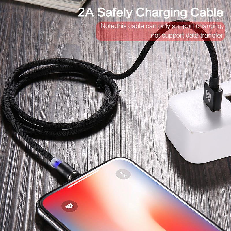 3 in1 Magnetic USB Cable for IOS, Android, USB Type C devices - FLOVEME