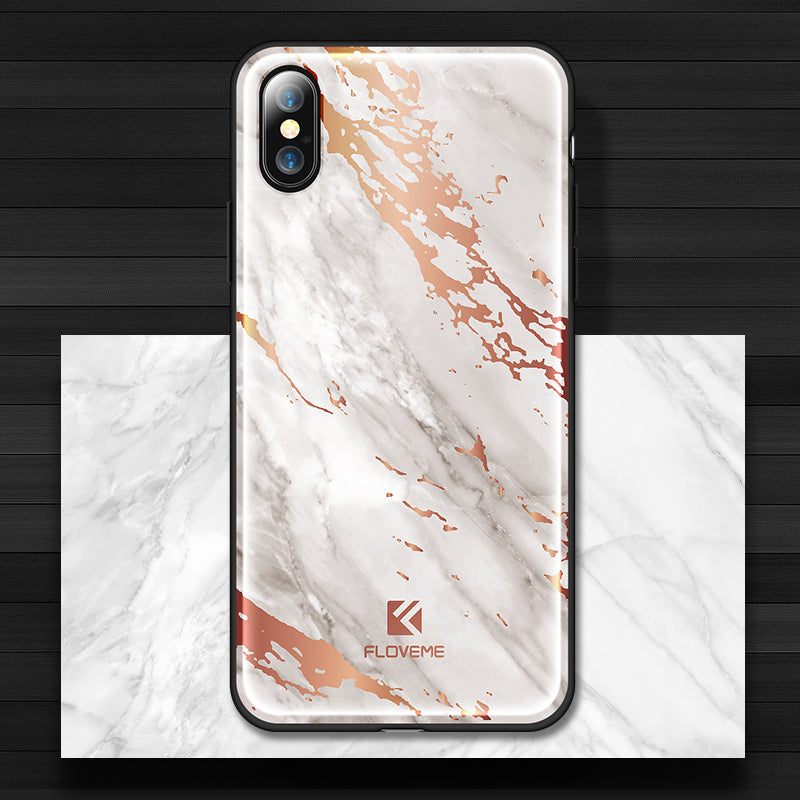 Marble Phone Case For iPhone - FLOVEME