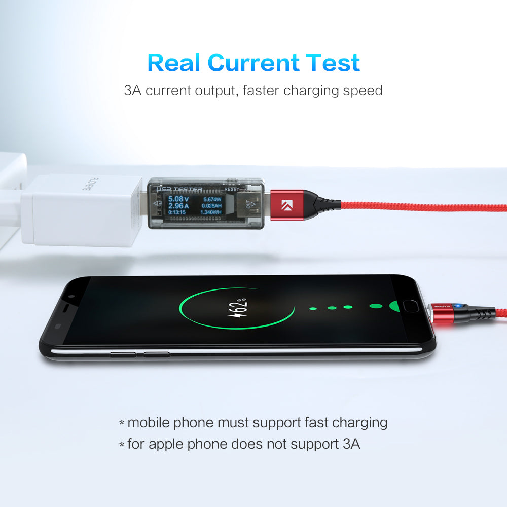 Magnetic Data Charging Cable For Micro USB/Type C/ Lightning - FLOVEME