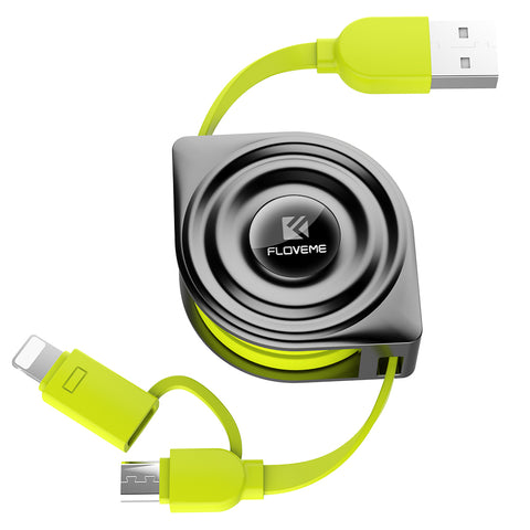 2 in 1 Retractable Cable - FLOVEME