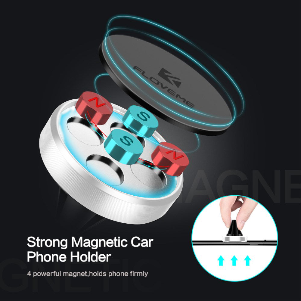 FLOVEME Magnetic Phone Holder for Car - FLOVEME