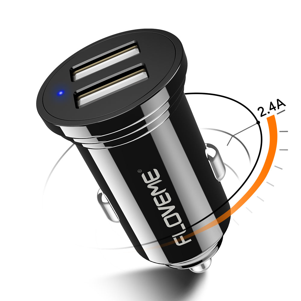 Mini Metal Mobile Car-charger - FLOVEME