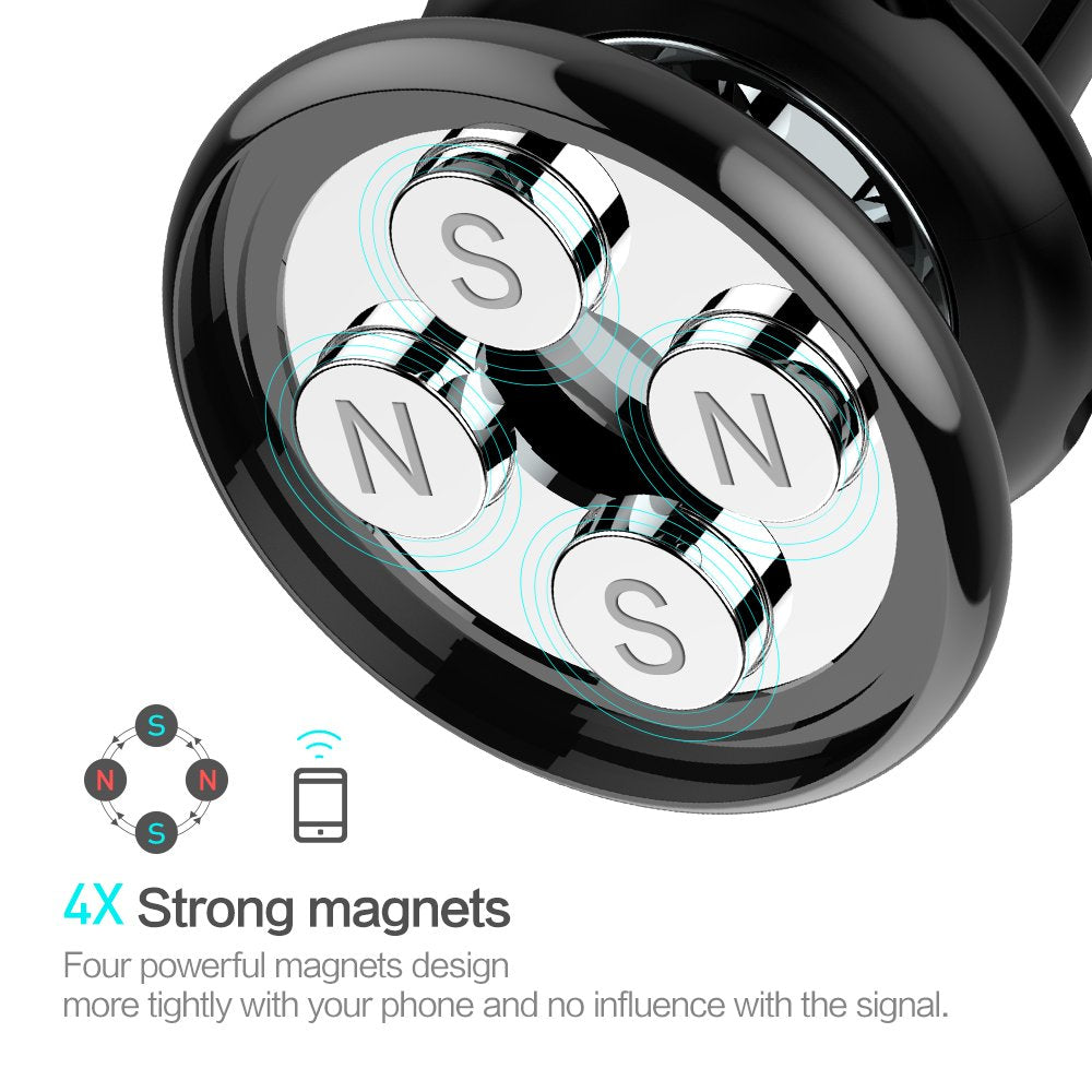 FLOVEME Magnetic Phone Car Mounts Holder - FLOVEME