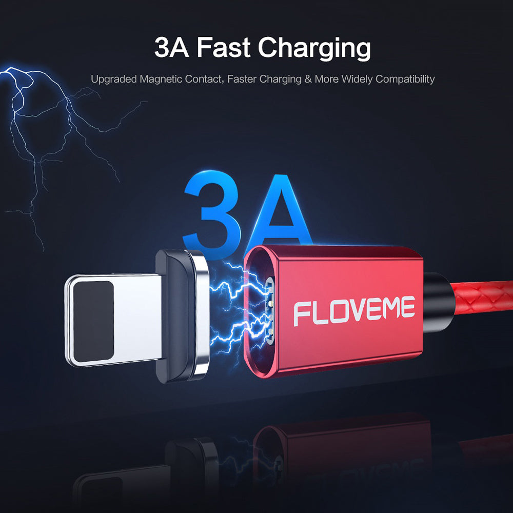 Magnetic USB Cable Fast Charging & Data Transfer 2 in 1 - FLOVEME