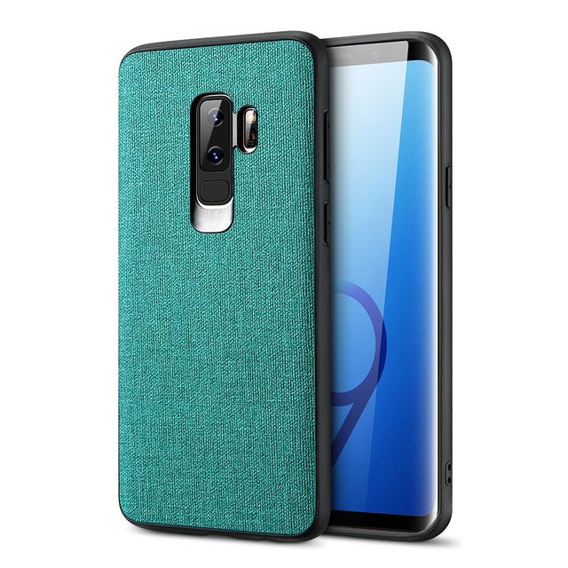 Luxury Cloth Texture Case For Samsung s10 s9 - FLOVEME