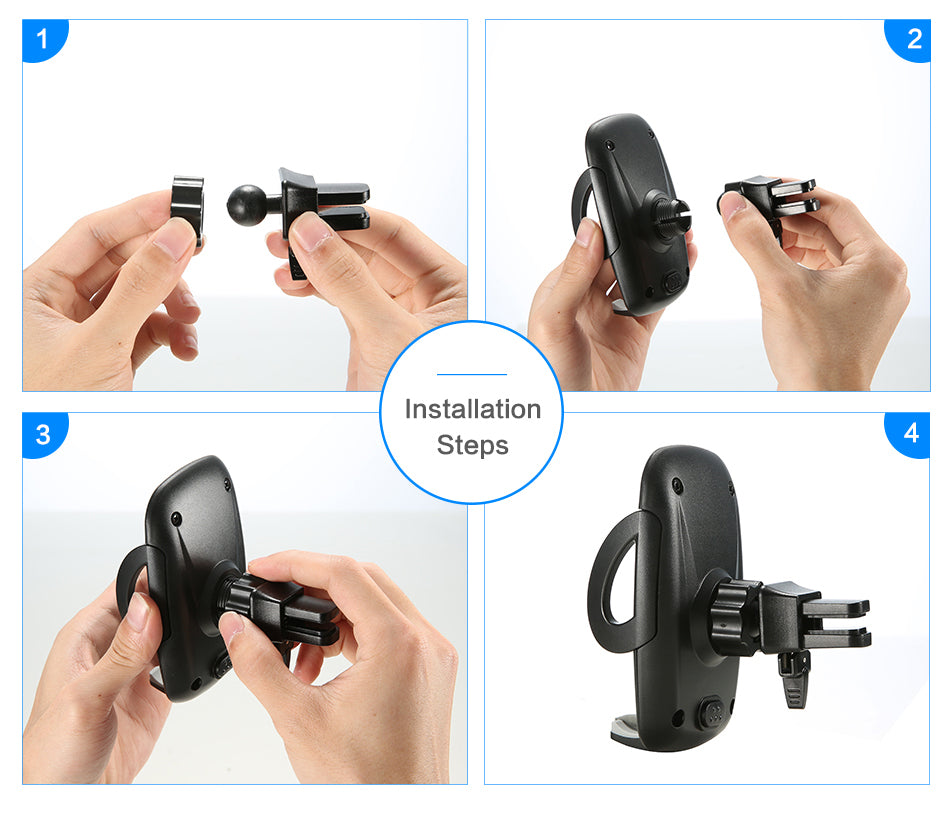 Air Vent Mount Car Holder - FLOVEME