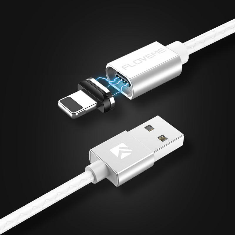 Magnetic USB Cable Fast Charger 3A Data Transfer - FLOVEME