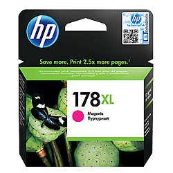 HP 178XL magenta ink CB322HE ראש דיו אדום