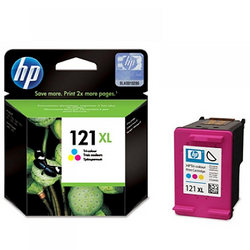 HP 121XL CC644HE tri-color ink ראש דיו צבעוני