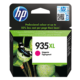HP 935XL C2P25AE magenta ink ראש דיו אדום