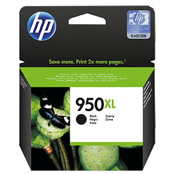 HP 950XL CN045AE black ink ראש דיו שחור