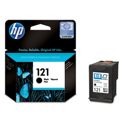 HP 121 CC640HE black ink ראש דיו שחור