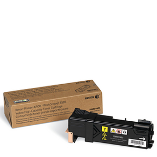XEROX 106R01603 6500 yellow toner טונר צהוב