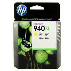 HP 940XL C4909AE yellow ink ראש דיו צהוב