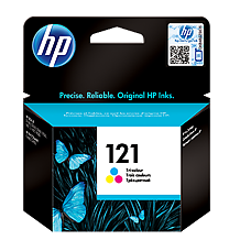 HP 121 CC643HE tri-color ink ראש דיו צבעוני
